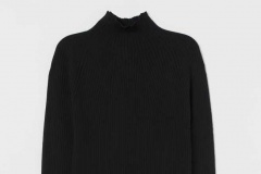 Ribbed Turtleneck Top H&M - https://www2.hm.com/en_us/productpage.0790651001.html