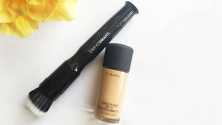 blend smart foundation brush