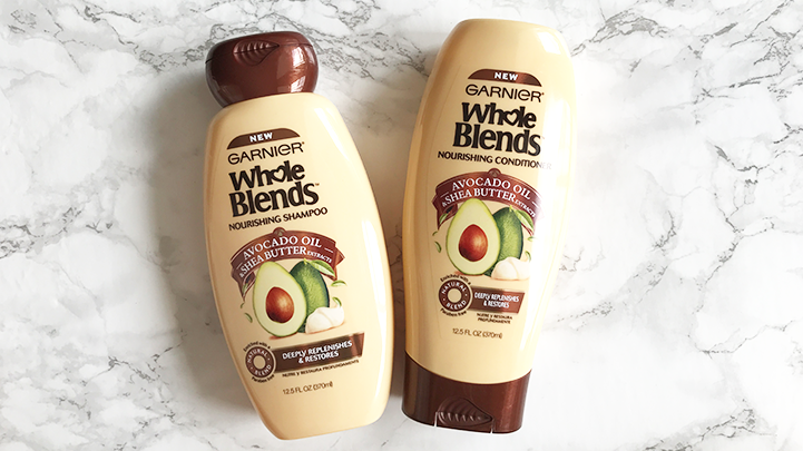 whole blends garnier shampoo and conditioner
