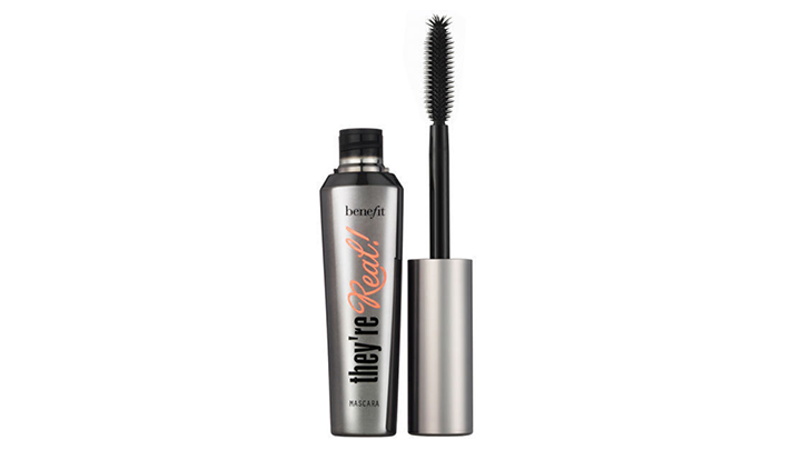 top 3 mascaras they're real benefit cosmetics