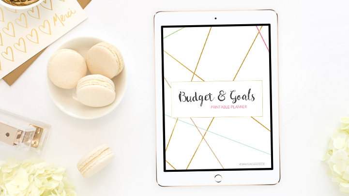 Free Printable Budget & Goals Planner Download