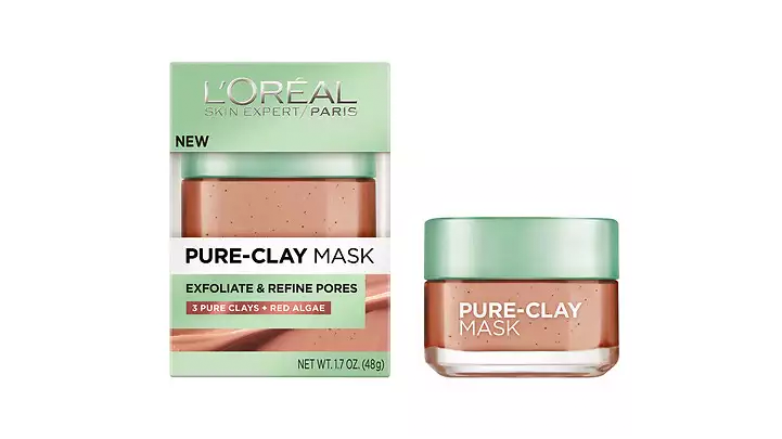 pure clay mask argile pure loreal
