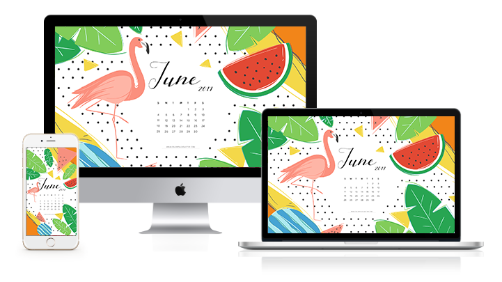 june 2017 wallpaper calendar free download