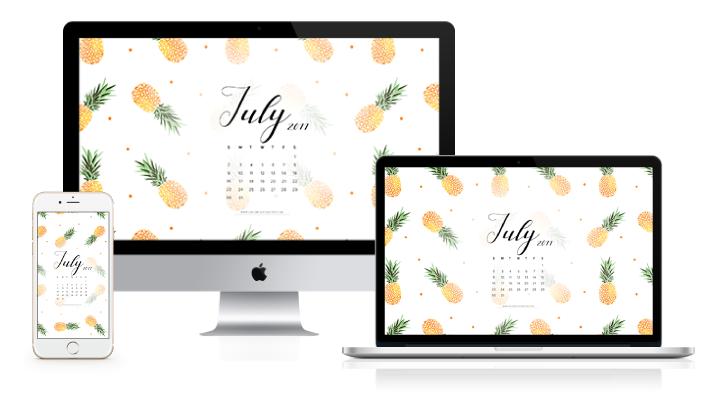 july 2017 wallpaper calendar free downloads