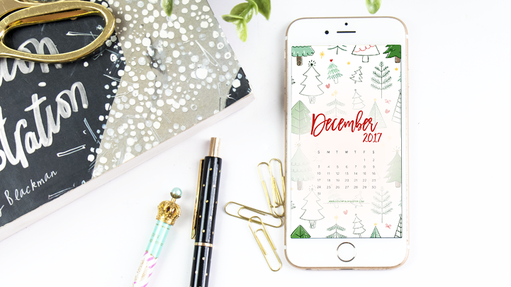 December 2017 Wallpaper Calendar Free Download