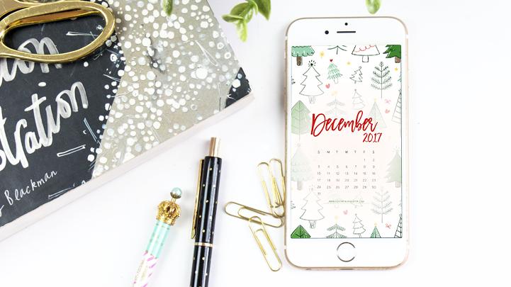 December 2017 Wallpaper Calendar Free Download