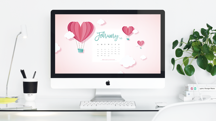 January 2018 Wallpaper Calendar FREE Download