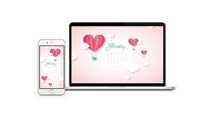 February 2018 Wallpaper Calendar Free Download