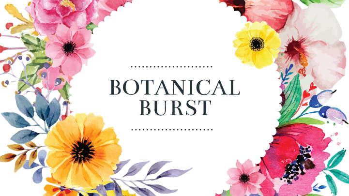 Botanical Burst Fashion Trend