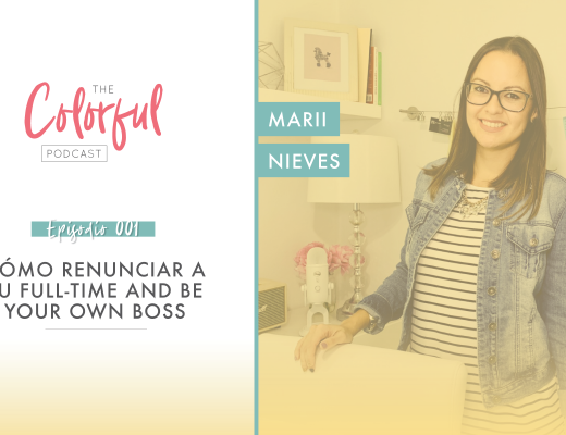 Ep 001 The Colorful Podcast con Marii Nieves