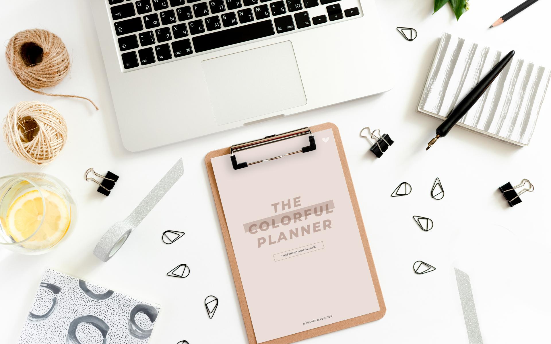 Cómo establecer y alcanzar metas utilizando nuestro planner imprimible