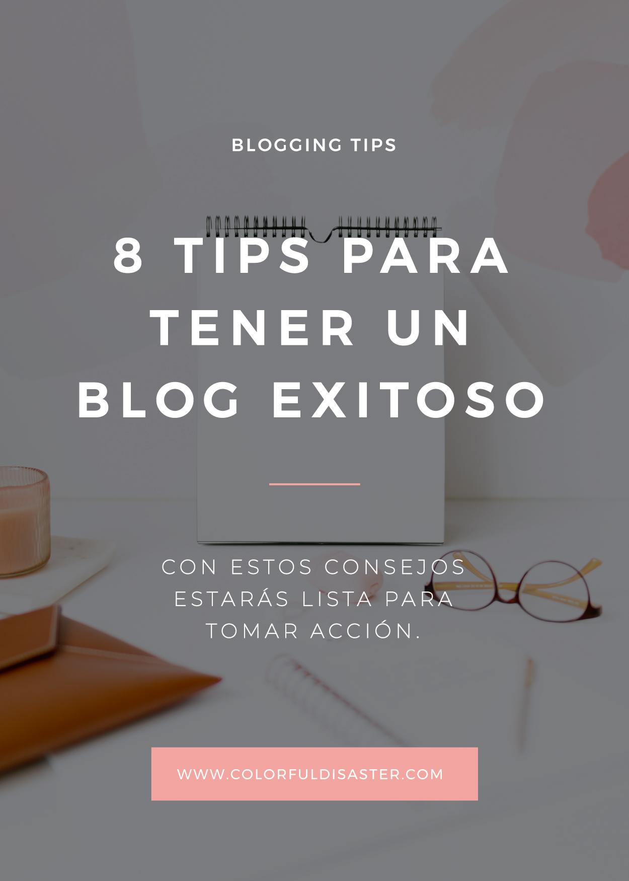 8 tips para tener un blog exitoso